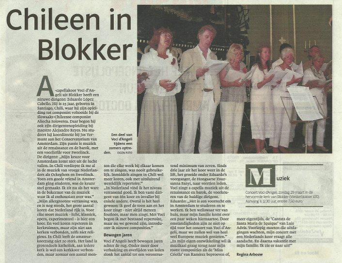 Chileen in Blokker